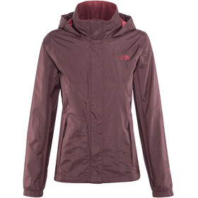 The North Face Resolve 2 Jacket Women Fig/Rumba Red